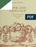 Love and Language