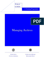 IRMT Manage Archives