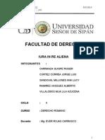 Monografia Derecho Romano Iura in Re Aliena