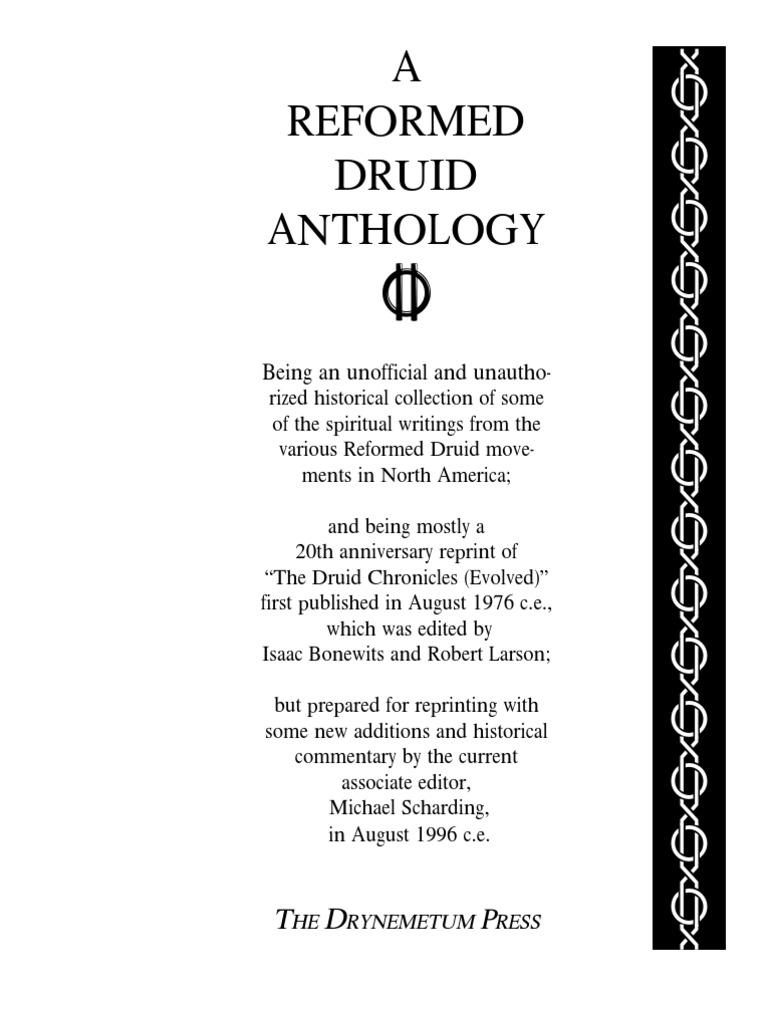 Bonewits a reformed druid anthology neo druidism druid fandeluxe Choice Image