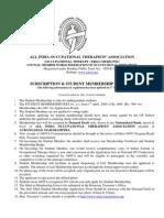 AIOTA Student Membership