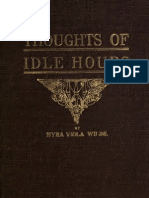 Myra Viola Wilds--Thoughts of Idle Hours (1915)