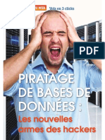 Piratage des bases de données