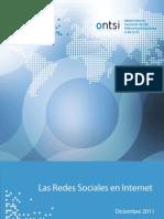 Informe Redes Sociales en Internet ONTISI 2011