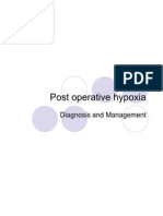 Post Operative Hypoxia