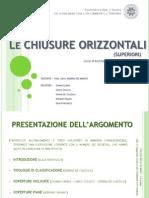 Le Chiusure Orizzontali Superiori - PDF