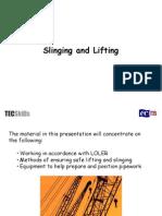 Safe Lifting and Slinging