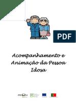 Acompanhamento e Animação da Pessoa Idosa - MANUAL