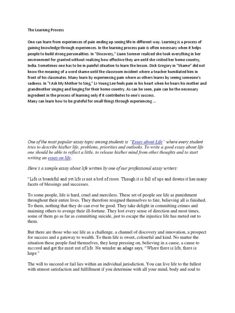 Essay on terrorism short