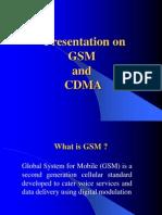 Gsm vs Cdma Presentation