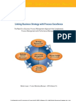 6283010 Linking Business Strategy With Process Excellence the Need For