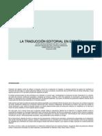 Informe Sobre Traduccion Editorial