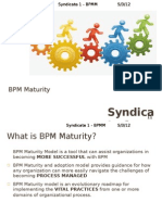 Syndicate 1 BPM Maturity