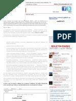 Boletin diario de noticias laborales, economicas, social, solidaridad -COMFIA