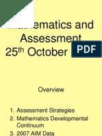 Mathematics Leadership 25-10-07
