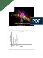 1 Historia Da Biologia Molecular
