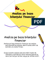 bilanul financiar