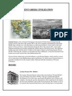 Ancient Greek Civilisation