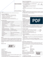 Manual Cronotermostat SALUS 091