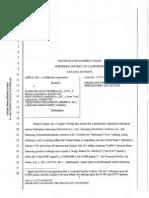 Apple v Samsung - United States - Judgment Denying Injunction - 02122011