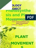 Plant Movement Bio Project