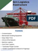 2011 Lscm Lesson18 Modern Logistics Infrastructure