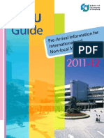 CityU Hong Kong Guide