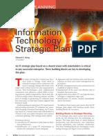 Information Technology Strategic Planning