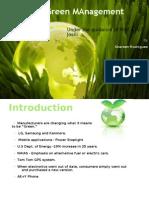 Green Management 21