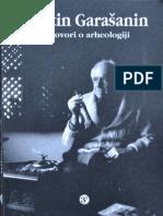 Garasanin, Milutin - Razgovori O Arheologiji