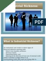 66707490 Industrial Sickness