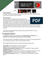 Resumos de Português Filipe Ligeiro