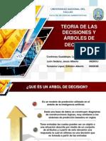 TEORIA DE LAS DECISIONES Y ÁRBOLES DE DECISIONES