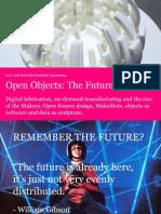 Open Objects