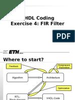 HH_FIR_VHDL