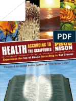 Health According to the Scriptures - Paul Nison