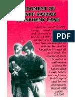 Judgment Of Yusuf Kazzab Blasphemy Casementioning Zaid Zaman Hamid