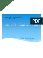 Plan de Desarrollo Personal_Carlos