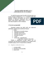 PROGRAM DE DEPISTARE PRECOCE A TULBURĂRILOR DE AUZ ŞI LIMBAJ