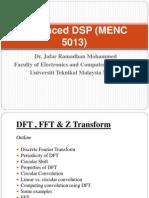 Advanced Dsp (Menc 5013)_4_dft,Fft,z