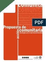 Propuesta de acción comunitaria. Estrategias para el ejercicio de Derechos