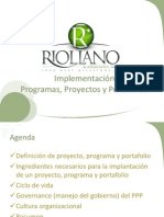 Project Program Portfolio Implementacion Ver 1 1