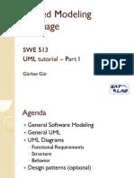 SWE513 Spring 2010-UML Tutorial.v2