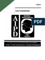 US Army Engineer Course - Soils Engineering EN5453