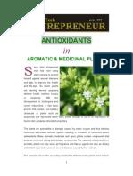 Antioxidants in Aromatic & Medicinal Plants