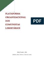 Plataforma Organizacional dos Comunistas Libertários