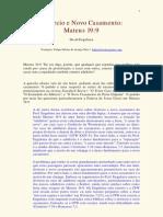 Divórcio e Novo casamento (Mt 19-9