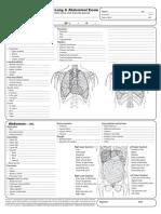 Heart Lung Abdomen Exam