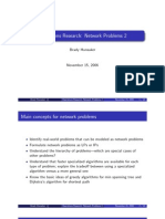 Operations Research Network Problems 23848