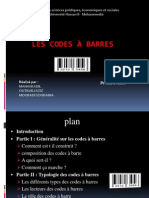 Les codes à barres